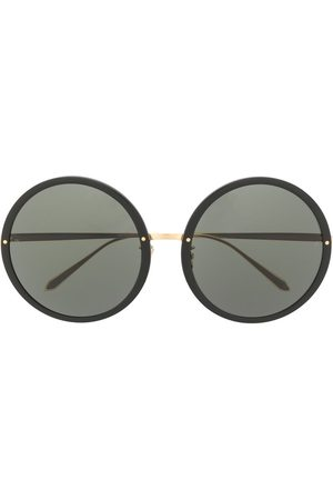 Linda Farrow Circular oversized sunglasses