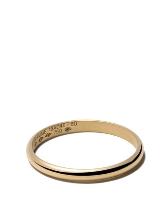 Le Gramme 18kt yellow polished gold Le 2 Grammes half bangle ring