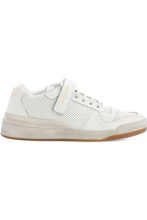 "Saint Laurent Herren Sneakers - Perforierte Ledersneakers ""travis"""