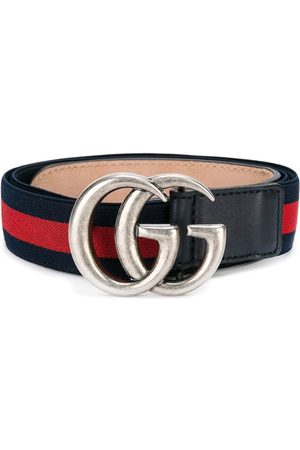 Gucci Web logo-buckle belt