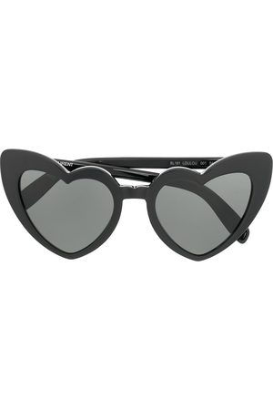 Saint Laurent Sonnenbrillen - Heart frame sunglasses