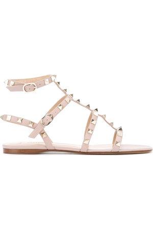VALENTINO GARAVANI Damen Sandalen - Rockstud ankle strap sandals