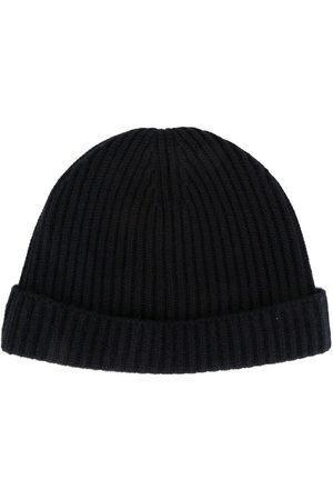 N.PEAL Herren Hüte - Ribbed-knit cashmere beanie