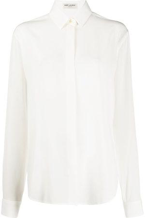 Saint Laurent Button-up long sleeved shirt