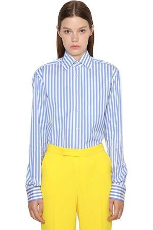 Ralph Lauren Boyfriend-hemd Aus Baumwollpopeline Mit Streifen