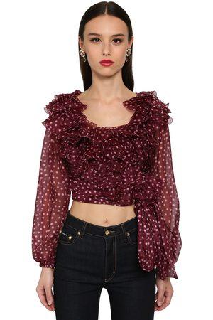 Dolce & Gabbana Wickelhemd Aus Organza