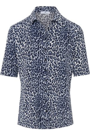 Peter Hahn Jersey-Bluse 1/2-Arm mehrfarbig