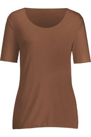 Peter Hahn Rundhals-Shirt langem 1/2-Arm