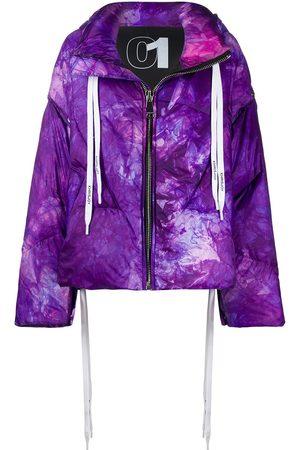 Khrisjoy Tie-dye padded jacket