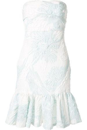Bambah Damen Cocktail & Partykleider - Floral strapless dress