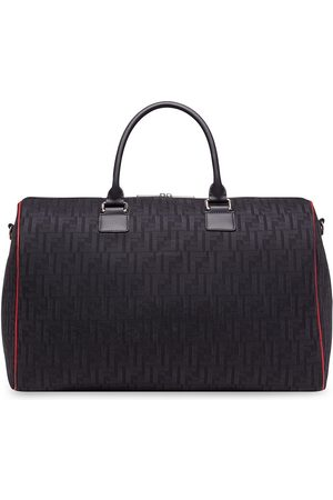 Fendi Embossed logo travel bag