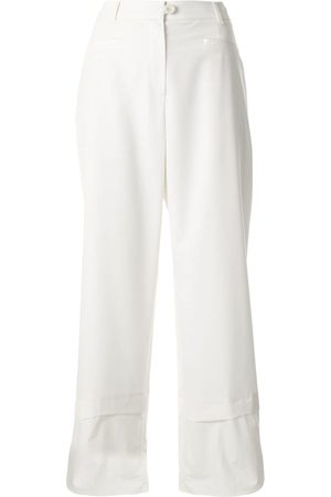 GOEN.J Wide-leg cropped trousers