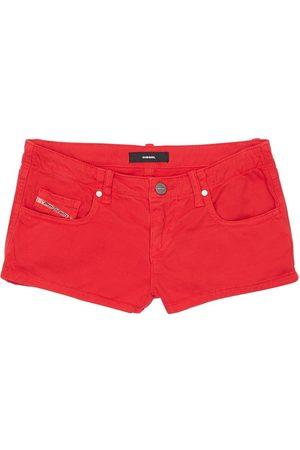 Diesel Damen Shorts - Stretch Cotton Denim Shorts