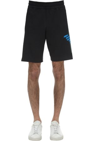 EA7 Train Graphic Eagle Bermuda Shorts