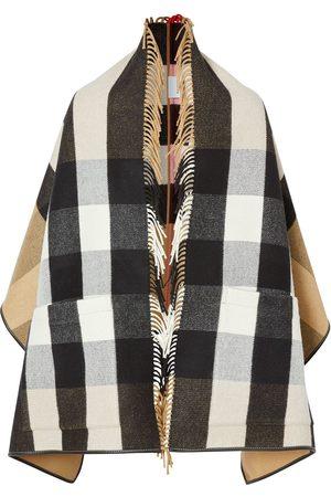 Burberry Mäntel - Check jacquard cape