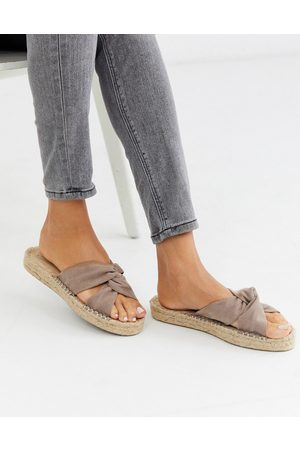 ASOS Jolly knotted mule espadrille in