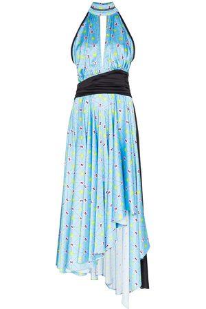 Natasha Zinko Damen Cocktail & Partykleider - Printed halterneck dress