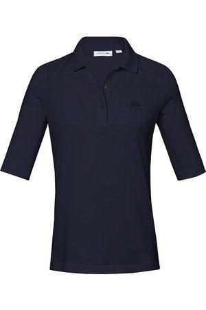 Lacoste Damen Lange Ärmel - Polo-Shirt langem 1/2-Arm