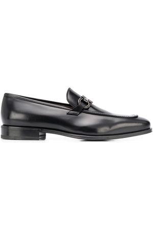 Salvatore Ferragamo Herren Halbschuhe - Gancini leather loafers