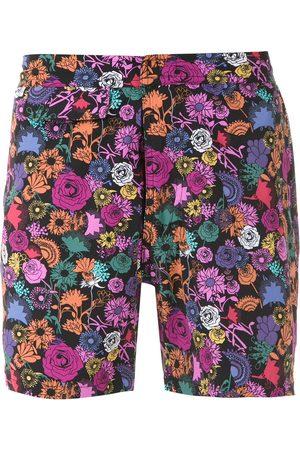 AMIR SLAMA Printed swim shorts