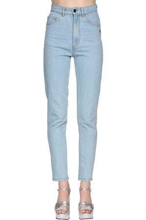 Marc Jacobs Damen High Waisted - High Waist Straight Denim Jeans