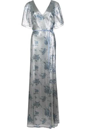 Marchesa Notte Damen Bedruckte Kleider - Bridesmaid floral-printed sequin gown