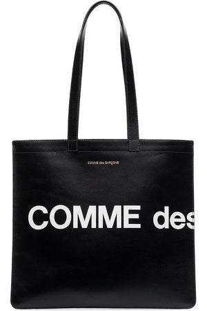 Comme Des Garçons Wallet Logo tote bag