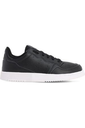 adidas Herren Schnürschuhe - Supercourt Leather Lace-up Sneakers