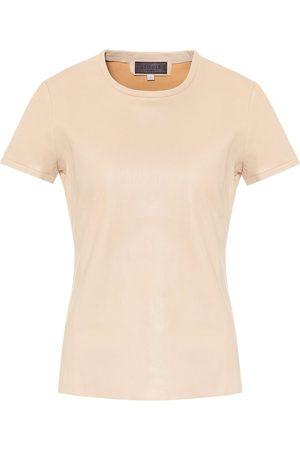 Stouls T-Shirt S.05 aus Leder