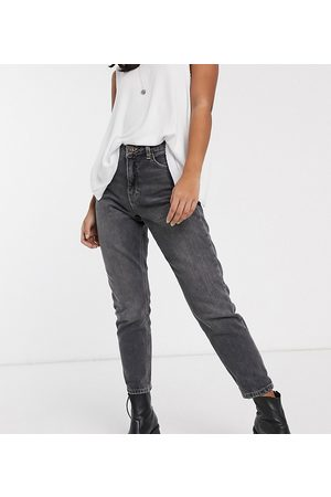 Topshop Mom jeans in washed