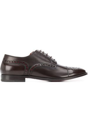 Dolce & Gabbana Herren Halbschuhe - Decorative perforations derby shoes