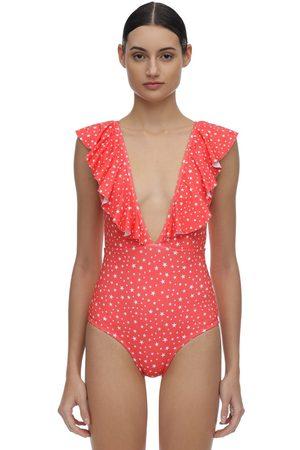 VERDELIMON Waco Stars Lycra One Piece Swimsuit