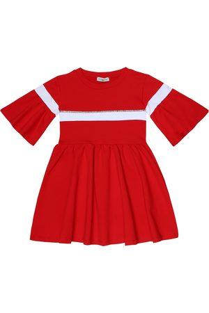 MONNALISA Kleid aus einem Baumwollgemisch