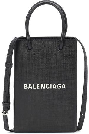 Balenciaga Tote Shopping Smartphone aus Leder