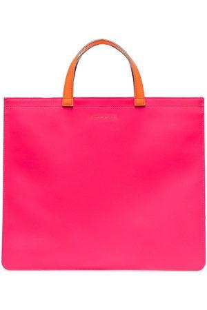 Comme des Garçons Herren Geldbörsen & Etuis - Colour-block square tote bag