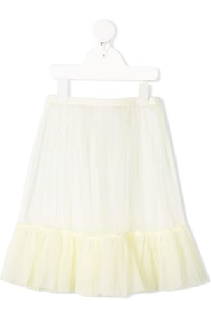 Il gufo Tiered tulle skirt