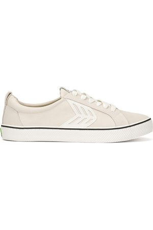 Cariuma CATIBA Low Stripe Vintage Suede and Canvas Sneaker