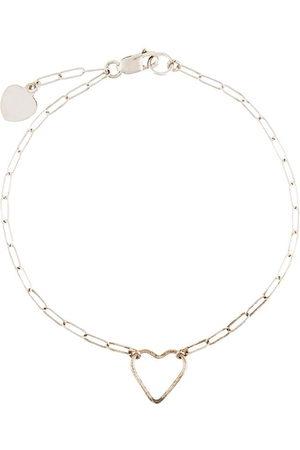 Petite Grand Heart fine chain bracelet