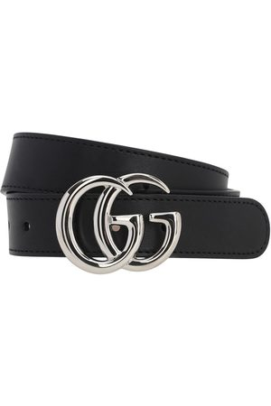 Gucci Damen Gürtel - Ledergürtel Mit Logo
