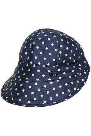 Le Mont St Michel Damen Hüte - Min Printed Silk Hat With Visor