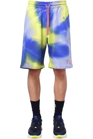 MARCELO BURLON County 3000 Tie Dye Jersey Sweat Shorts