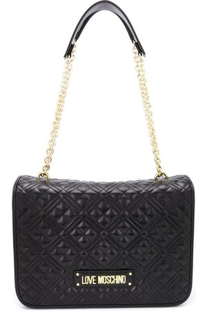 Love Moschino Faux leather quilted shoulder bag