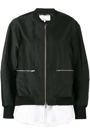 3.1 Phillip Lim Layered bomber jacket