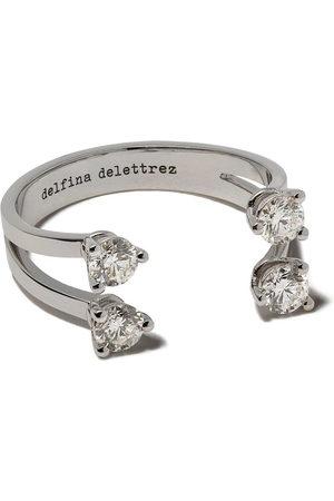 DELFINA DELETTREZ Ringe - Dots diamond ring