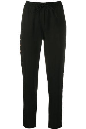 LIU JO High-rise drawstring trousers