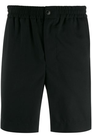 Ami Paris Herren Shorts - Men Elasticised Waist Bermuda Shorts