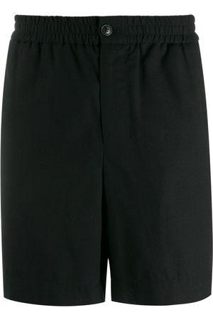 Ami Paris Men Elasticised Waist Bermuda Shorts