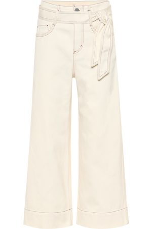 Loro Piana High-Rise Cropped Jeans