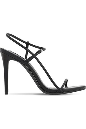 Steve Madden 120mm Faux Leather Sandals