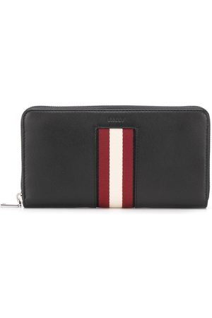 Bally Logo stripe wallet